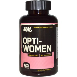 Optimum Nutrition, Opti-Women, Nutrient Optimization System, 120 Capsules