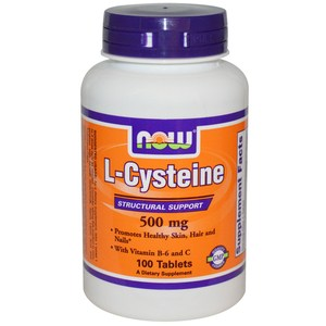 Now Foods  L-Cysteine  500 mg  100 Tablets