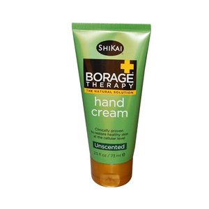 Shikai Borage Therapy Hand Cream Aloe Vera Gel Unscented 2.5 fl oz (73 ml)