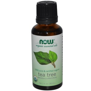 Now Foods  Organic Essential Oils  Tea Tree  1 fl oz (30 ml)
