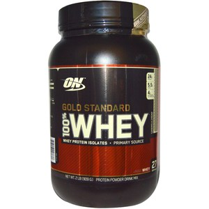 Optimum Nutrition, Gold Standard 100% Whey, Cookies and Cream, 2 lb (909 g)