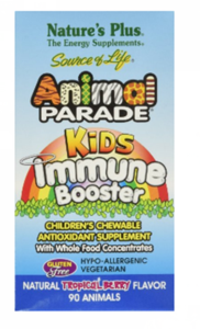 Nature's Plus  Source of Life  Animal Parade  Kids Immune Booster  Natural Tropical Berry Flavor  90